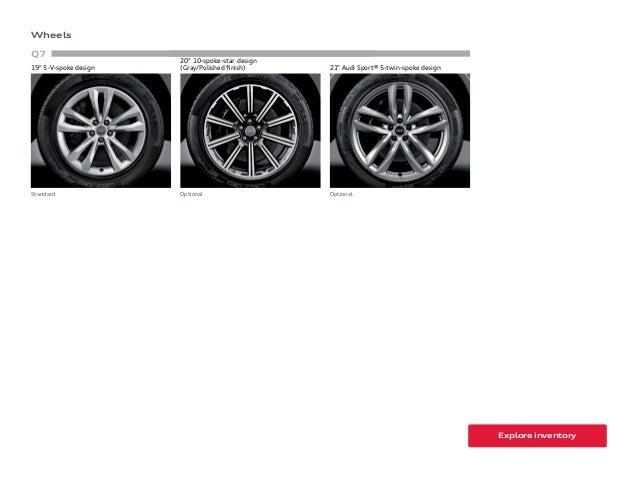 2017 Audi Q7 Brochure Orange County Audi Dealer