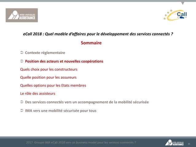 11 Sommaire  Contexte réglementaire  Position des acteurs et nouvelles coopérations •Quels choix pour les constructeurs ...