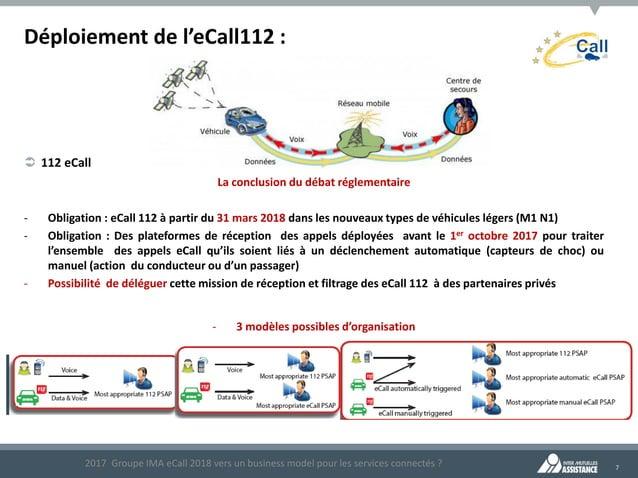 7 Déploiement de l'eCall112 : La conclusion du débat réglementaire - Obligation : eCall 112 à partir du 31 mars 2018 dans ...