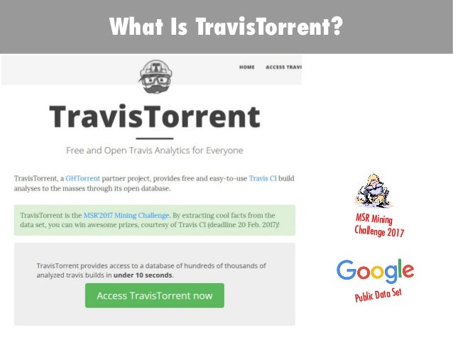 TODO: Add background with Sun Research on Continuous Code Review Enabled By TravisTorrent