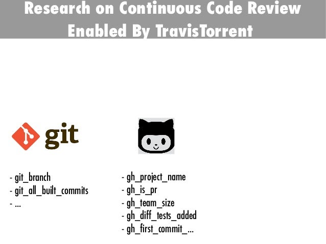 TODO: Add background with Sun - git_branch - git_all_built_commits - ... - gh_project_name - gh_is_pr - gh_team_size - gh_...