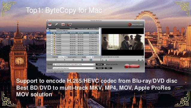 2017 Best 5 Blu-ray to MKV Converter Reviews for Mac and PC