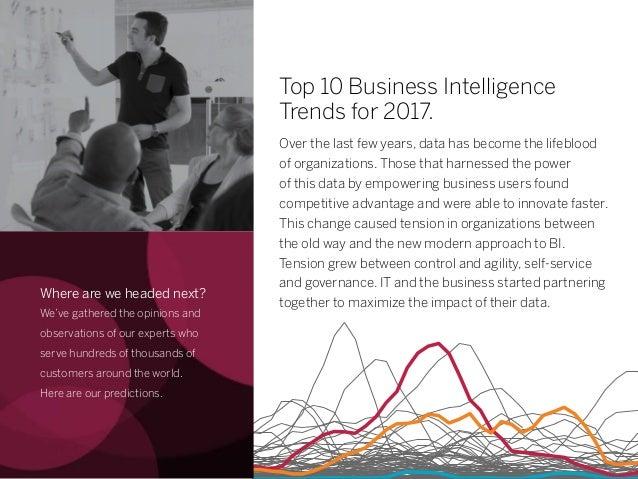 Top 10 Business Intelligence Trends for 2017  Slide 2
