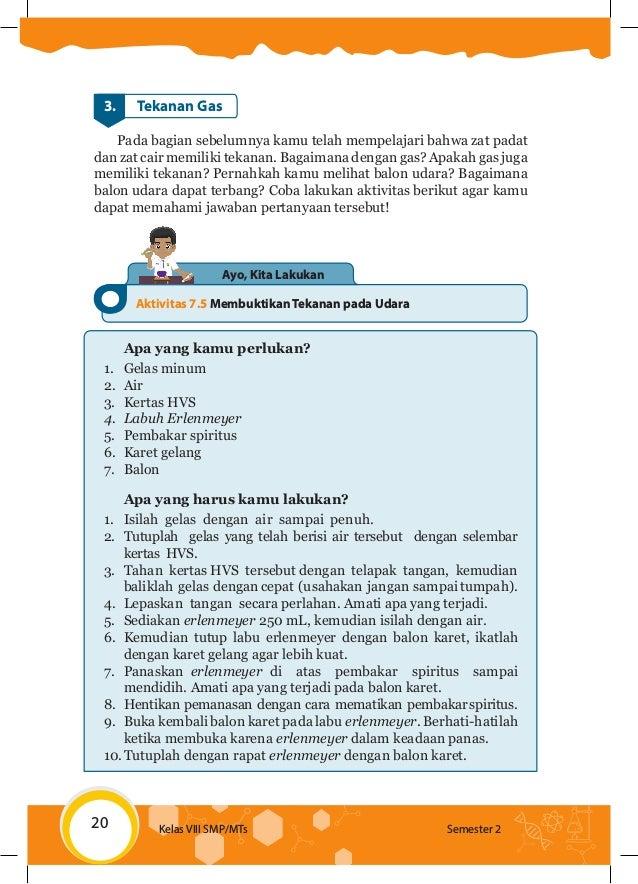 Kunci Jawaban Ipa Kelas 8 Halaman 20 Tabel 15