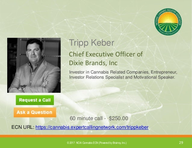 2017 Cannabis ECN Roster of Experts