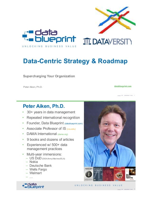 Data ed slides data centric strategy roadmap supercharging your data centric strategy roadmap supercharging your organization copyright 2017 by data blueprint slide malvernweather Choice Image