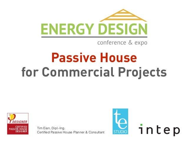 Certified passive house designer