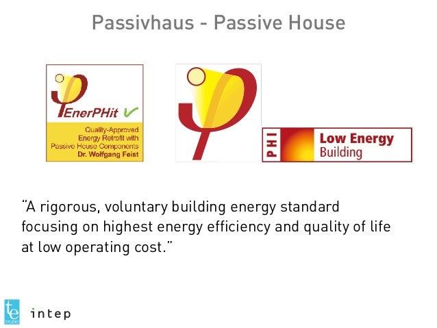 Passivhaus Buildings: Case Studies