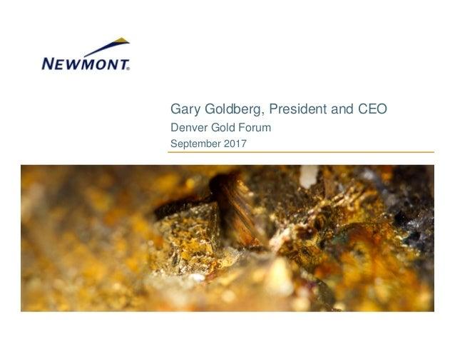 2017 Denver Gold Forum Presentation