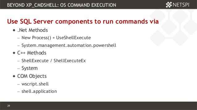 Beyond xp_cmdshell: Owning the Empire through SQL Server
