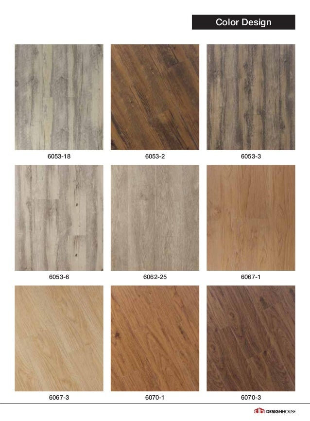 2017 Design House Vinyl Flooring Catalog 3 10 17