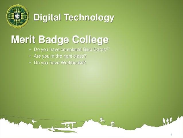 Digital Technology Merit Badge Worksheet 027 - Digital Technology Merit Badge Worksheet