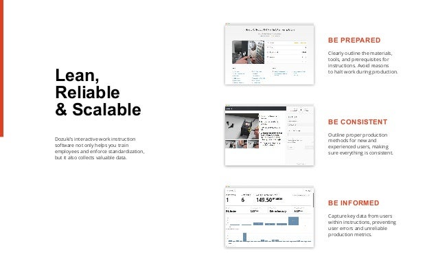 Modern Instructions for Modern Manufacturing with Dozuki
