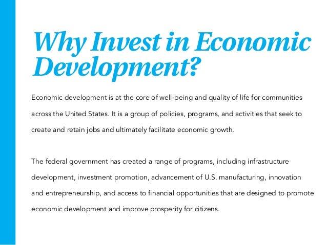 Why Invest in Economic Development? Slide 2