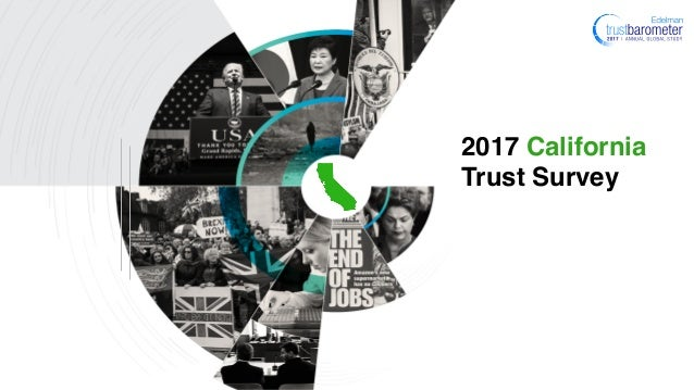 2017 California Trust Survey