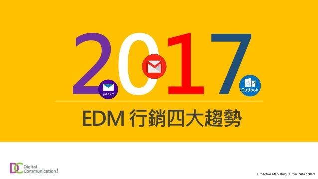 EDM行銷四大趨勢 Proactive Marketing | Email data collect