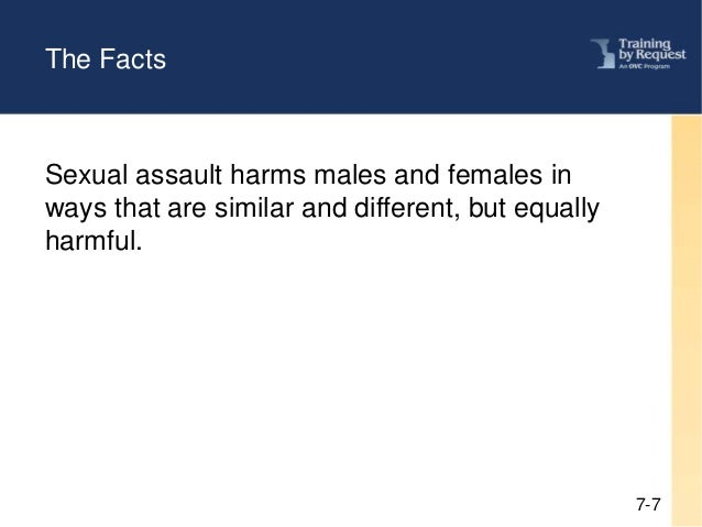 Sexual abuse effects on males