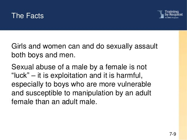 Effects of sexual abuse on males