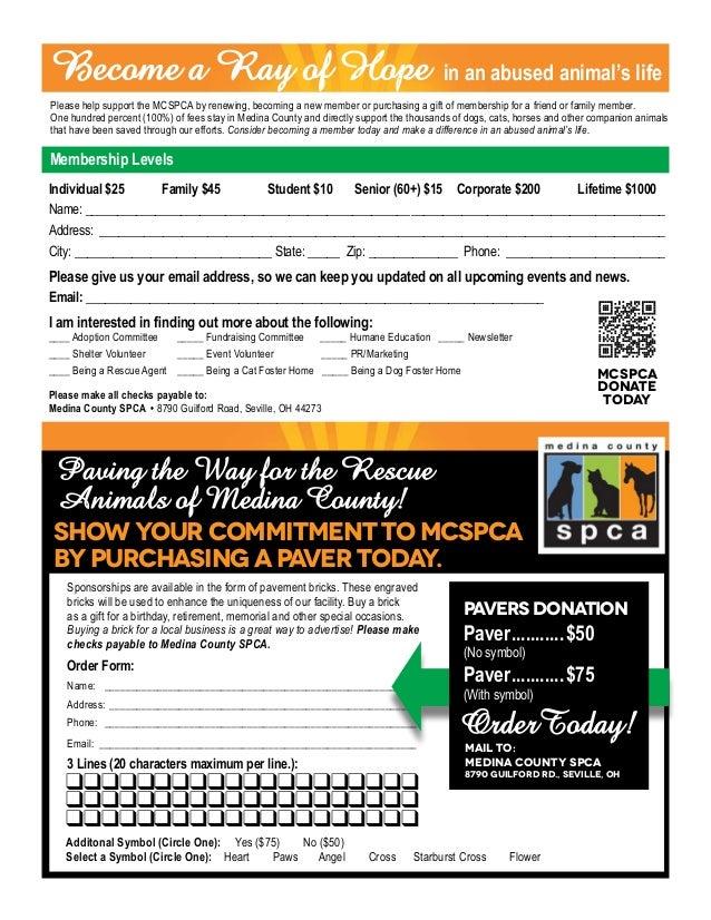 Medina County SPCA Fall 17 Newsletter
