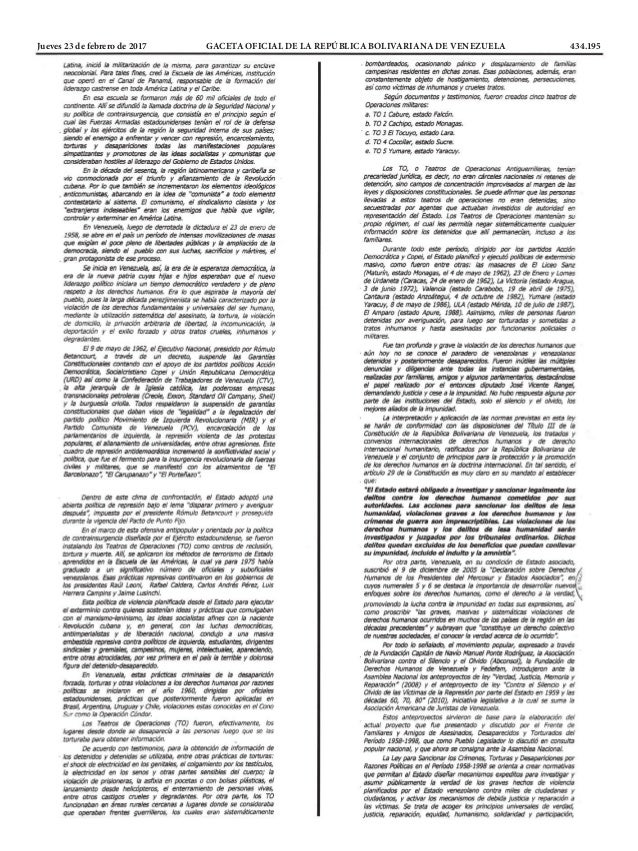 Jueves 23 de febrero de 2017 GACETA OFICIAL DE LA REPÚBLICA BOLIVARIANA DE VENEZUELA 434.195
