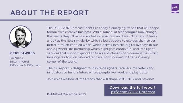 PSFK 2017 Forecast - Summary Report Slide 3