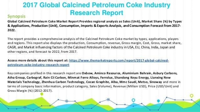 Global Calcined Petroleum Coke Market to 2022: Production