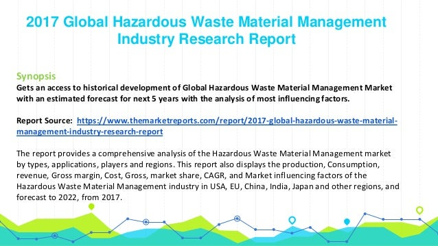 Global Hazardous Waste Material Management Market Growth Analysis by …