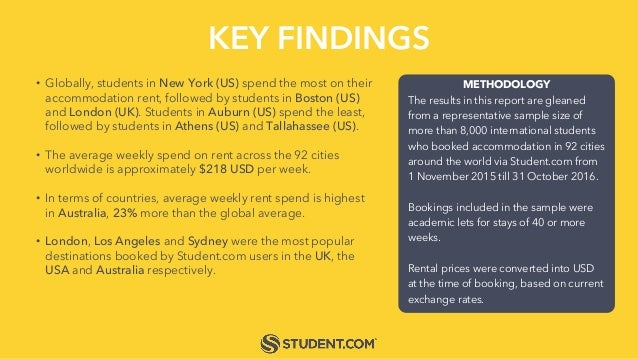 KEY FINDINGS METHODOLOGY The results in this report are gleaned from a representative sample size of more than 8,000 inter...
