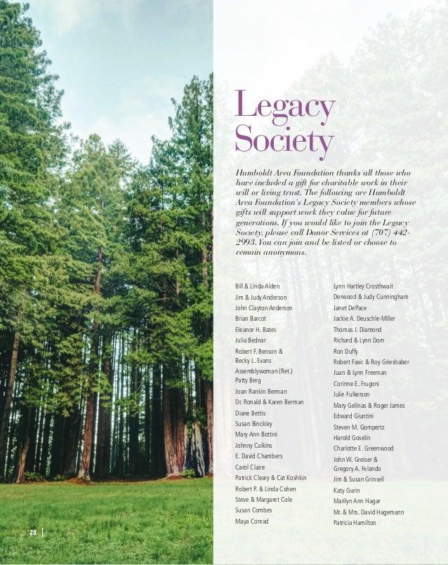 Humboldt Area Foundation 2017 Yearbook