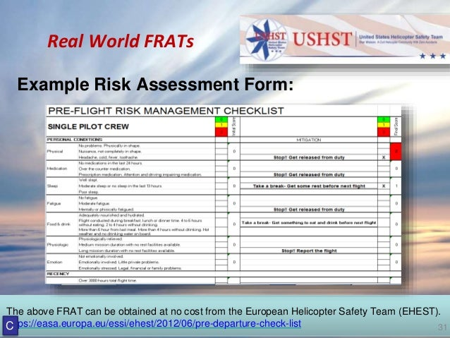 """2017 Heli-Expo - """"What the FRAT?"""" Helicopter Risk Analysis ..."""
