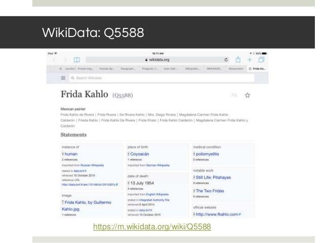 WikiData: Q5588 https://m.wikidata.org/wiki/Q5588