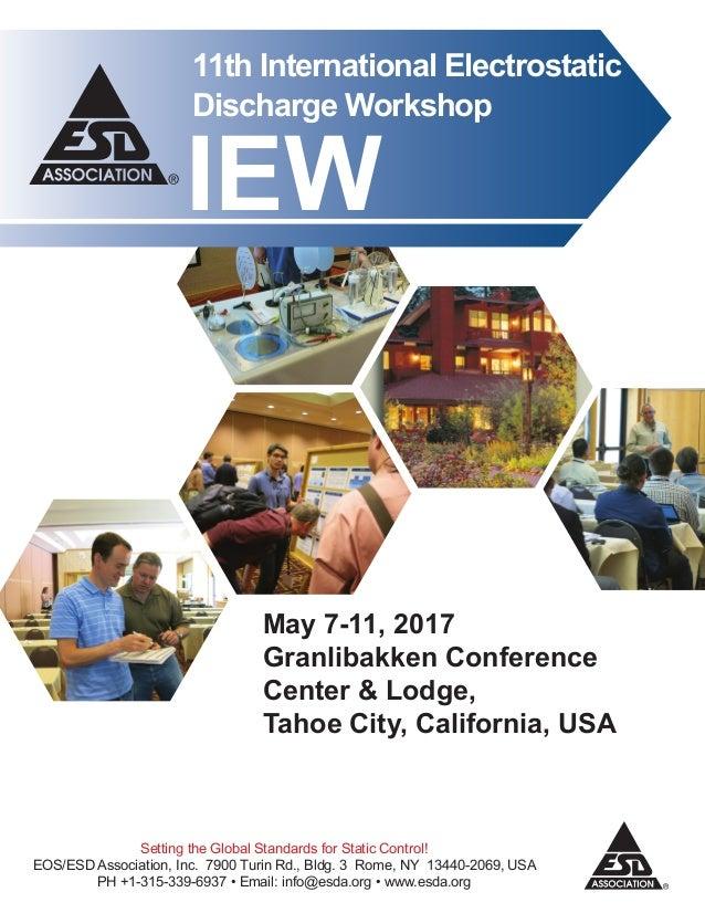 2017 International Electrostatic Discharge Workshop