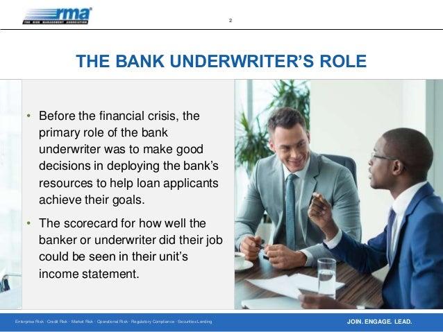 Investment banker vs underwriter training value partners investment philosophy of 60%