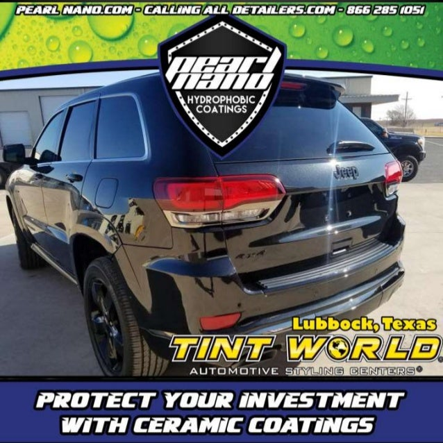 2017 Jeep After Paint Correction and Pearl Nano Coatings Super Hydrophobic Coating by Jeffrey Fisher at Tint World Pearl N...