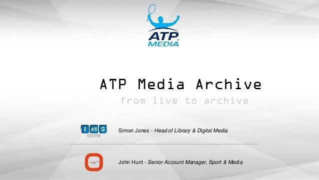 Atp World Tour Archive Img Replay And Imagen Ltd Jones Hunt