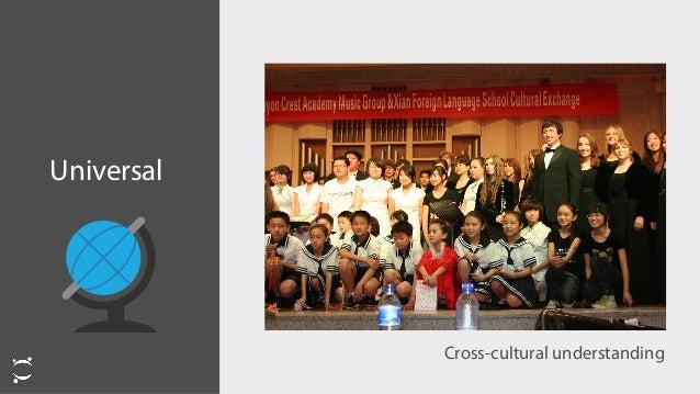 Universal Cross-cultural understanding