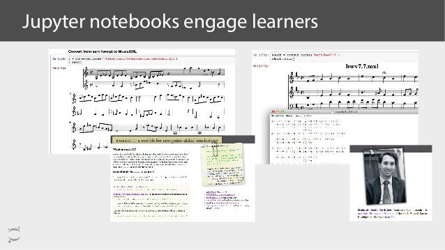 Jupyter notebooks engage learners