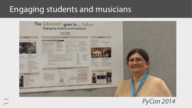 Engaging students and musicians PyCon 2014