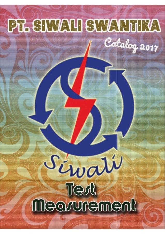 Katalog Siwali 2017 | Katalog Alat Ukur