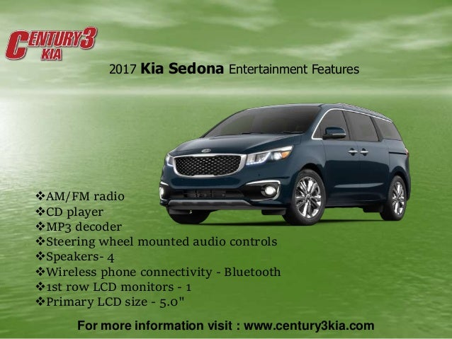 2017 kia sedona van penncelvenia century3kia. Black Bedroom Furniture Sets. Home Design Ideas