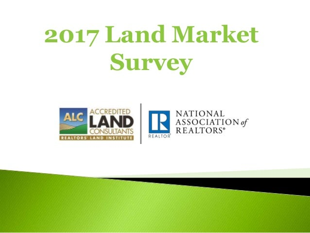 2017 Land Market Survey