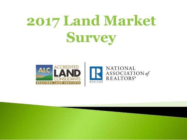 2017 Land Market Survey