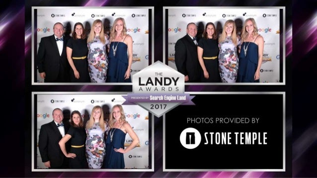 2017 Search Engine Land Awards Gala Photobooth Sponsored by Stone Temple