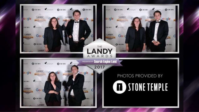 2017 Search Engine Land Awards Gala Photobooth Sponsored by Stone Temple Slide 2