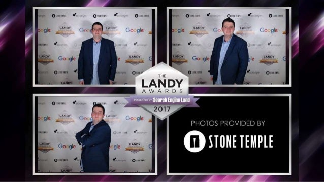 2017 Search Engine Land Awards Gala Photobooth Sponsored by Stone Temple Slide 3