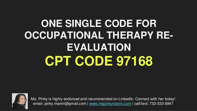 Understanding The Difference Between Cpt Codes 97110 97530 Occupational Therapy Adolescence