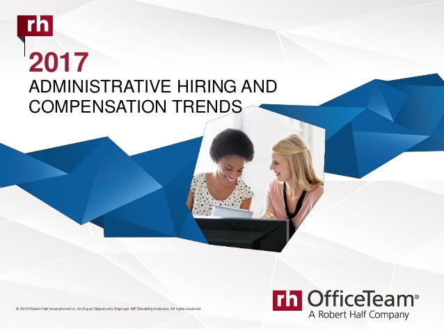 2017 OfficeTeam Salary Guide