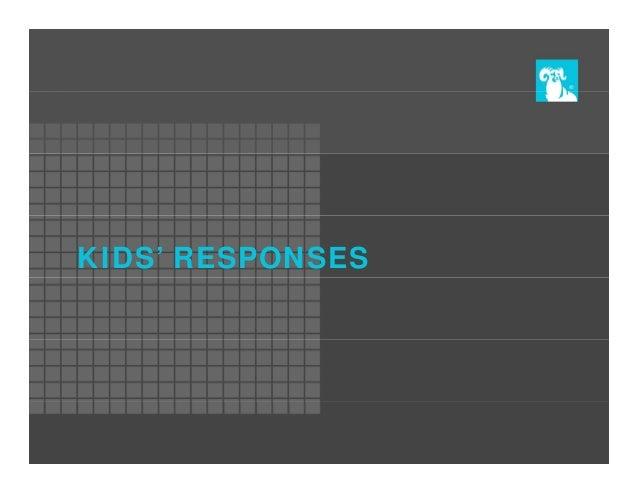 KIDS' RESPONSES