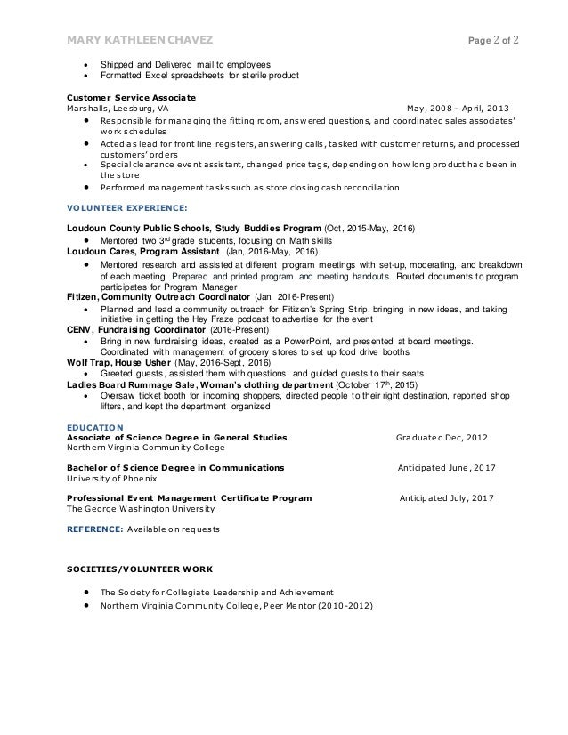 SlideShare  George Washington Resume
