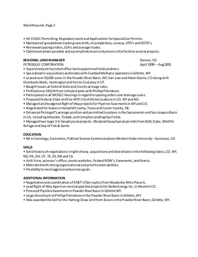 Awesome Noble Energy Resume Motif - Administrative Officer Cover ...